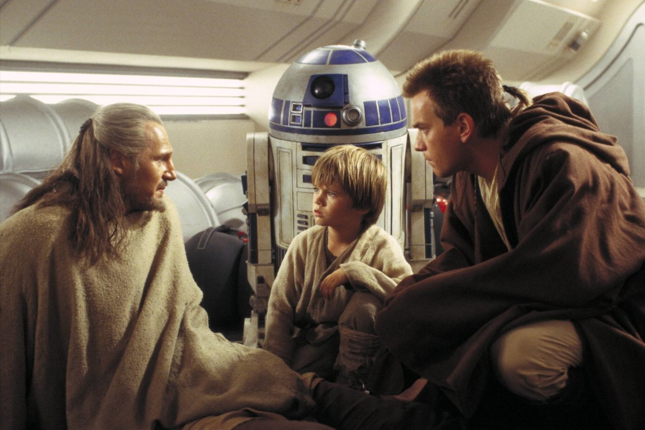 Anakin Skywalker Obiwan Kenobi Qui-Gon Jinn