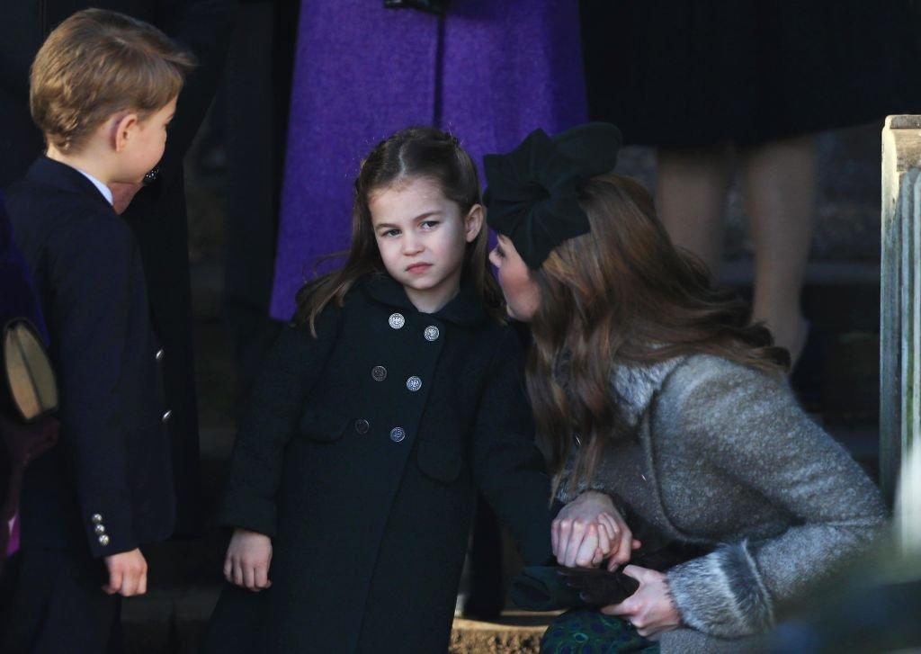 Prinzessin Charlotte mit Mama Kate