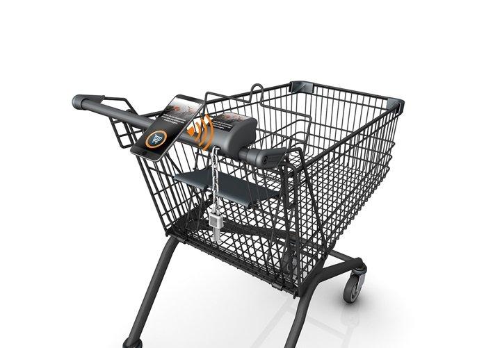 Wanzl_Digitales Einkaufswagenschloss