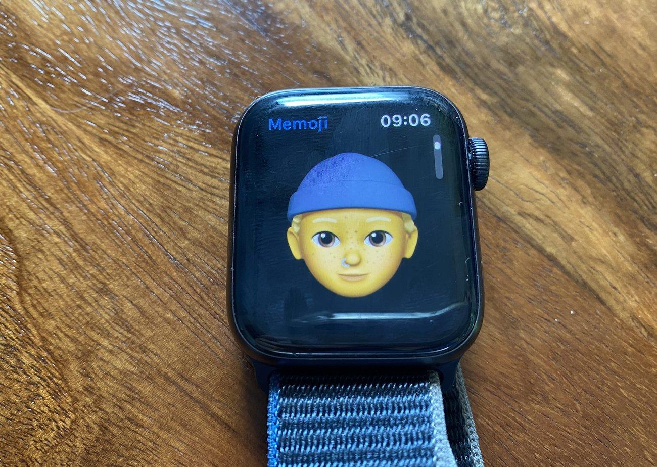 Apple Watch Kinder Freund mit Mütze