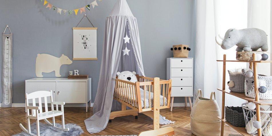 Babyzimmer einrichten: Was du in Sachen Farbe beachten ...
