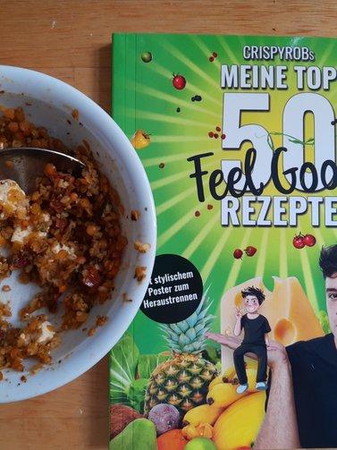 Kinder-Kochbuch Crispyrob feel good Rezeote