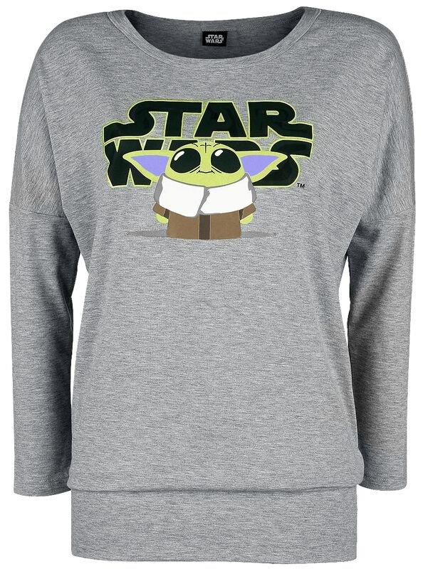 Star Wars Mandalorian Langarmshirt