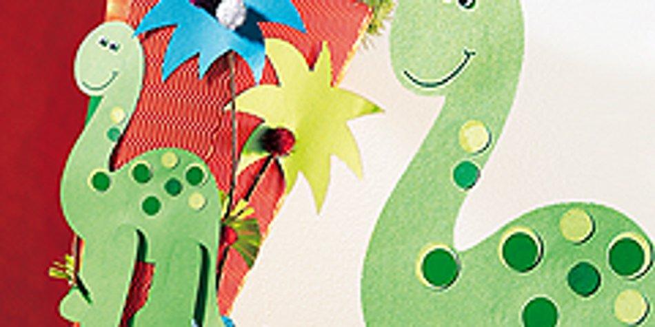 Dinosaurier Basteln Kinderspiele Welt De 14