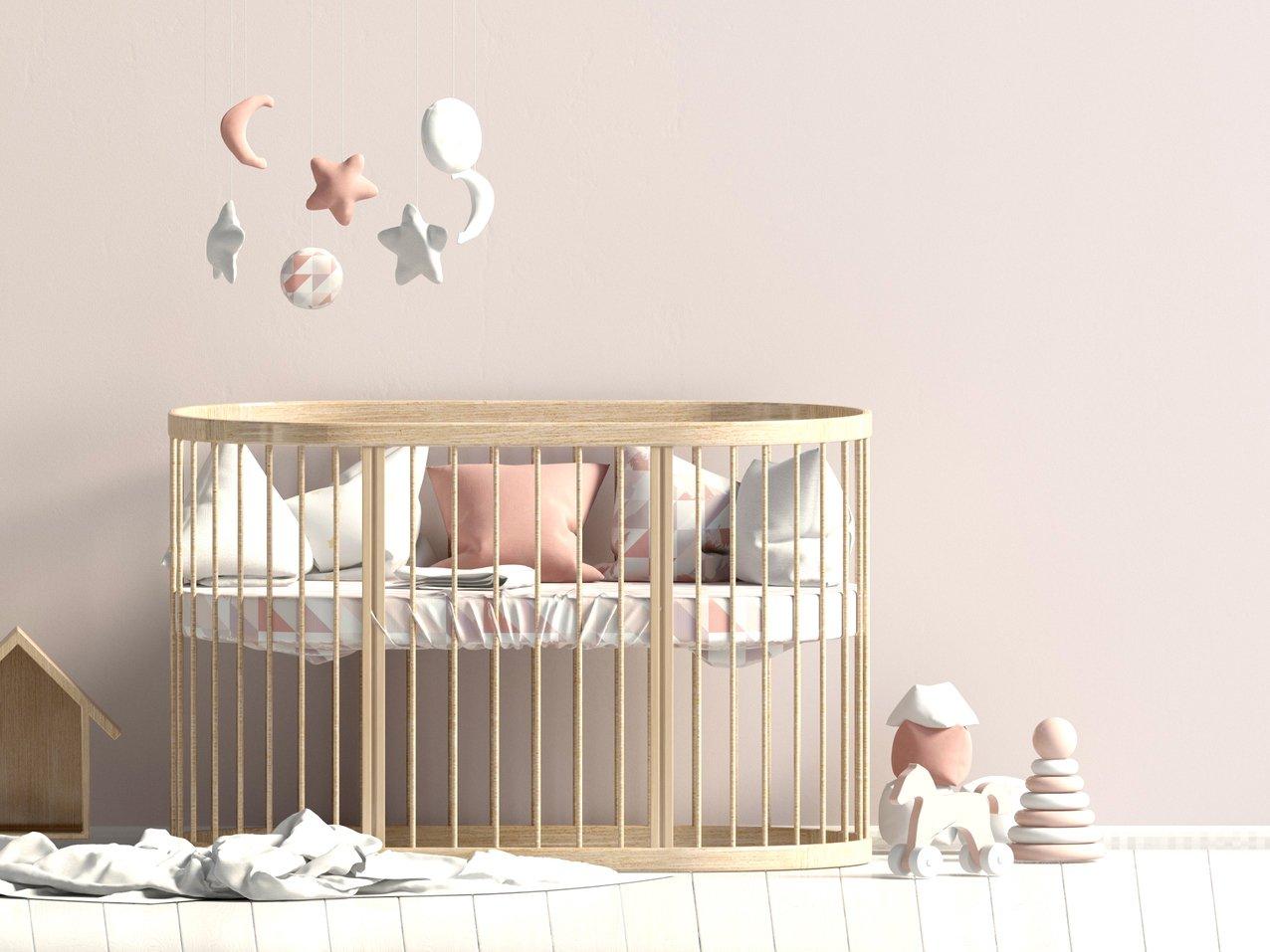 Babyzimmer Babybett