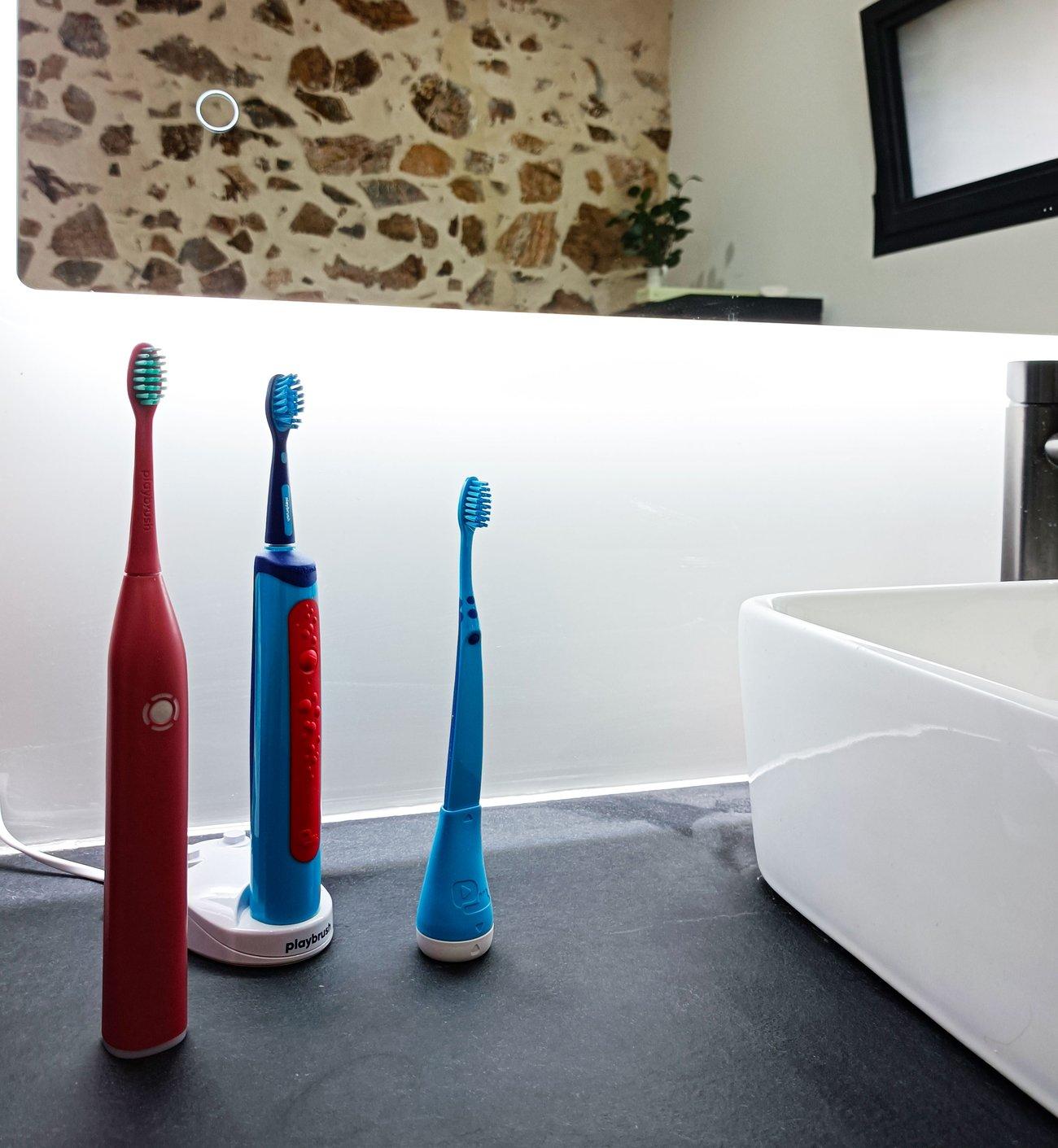 Übericht der verschiedenen Playbrush-Zahnbürsten