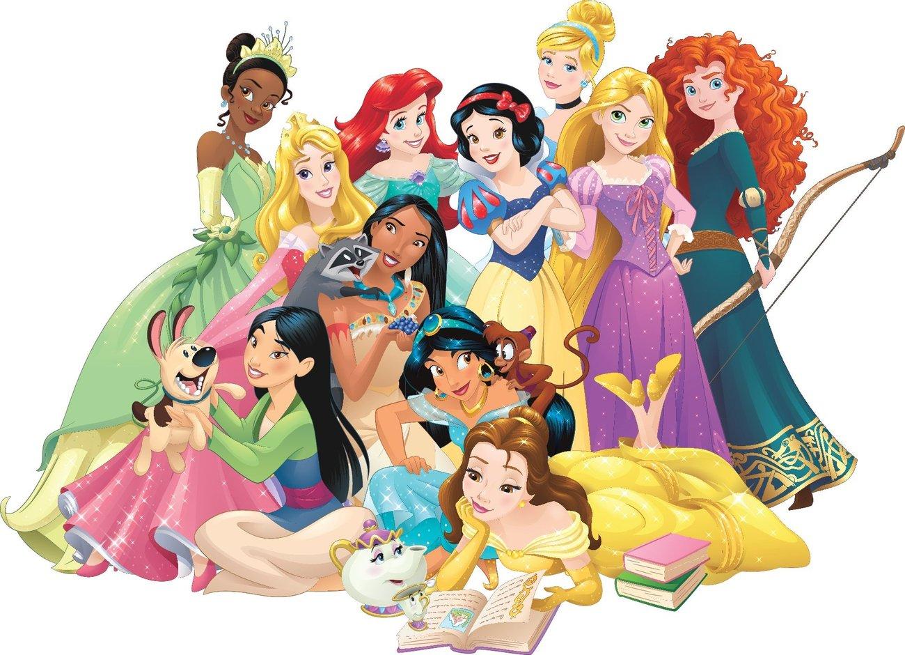 Vielfalt Disney Prinzessinnen