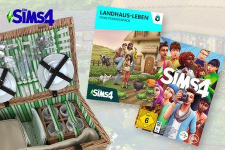 Sims 4 Landhaus-Leben Gewinnspiel