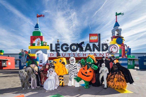 Halloween Freizeitparks Legoland und Co.