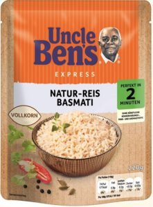 Uncle Ben's Reis Mars Foods Rückruf