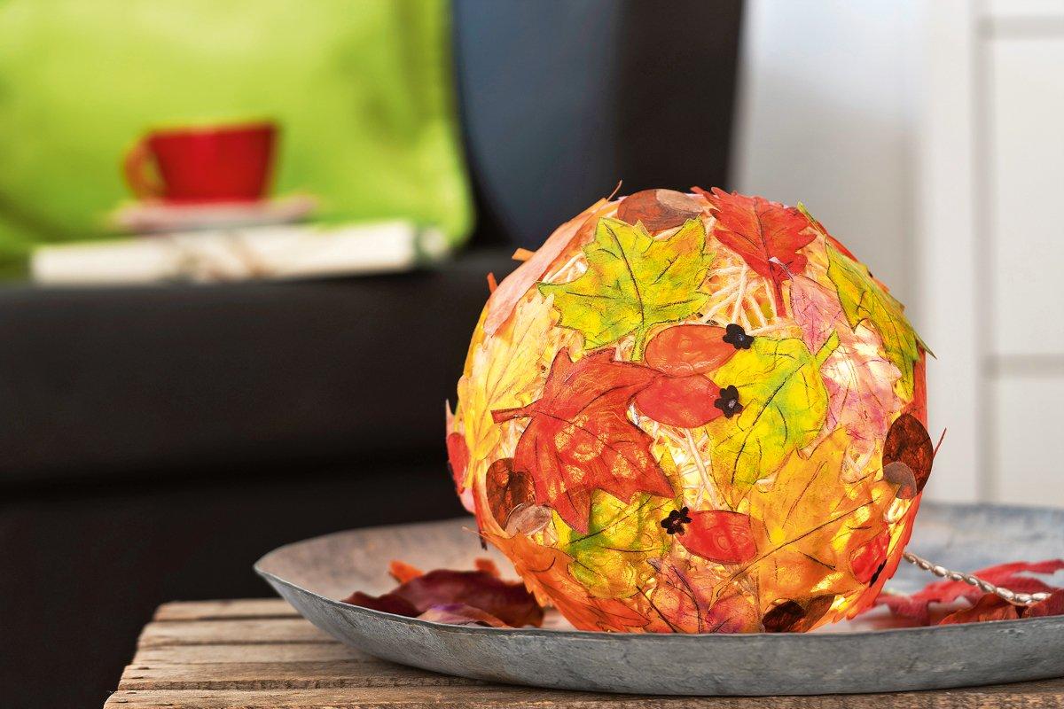 Herbstdeko Selber Machen Bunter Herbstzauber Familie De