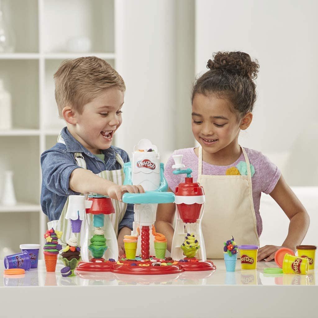 Eiscreme Maschine Play-Doh Knete