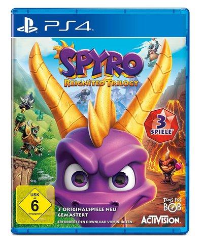 Ps4-Games für Kinder: Spyro Triology
