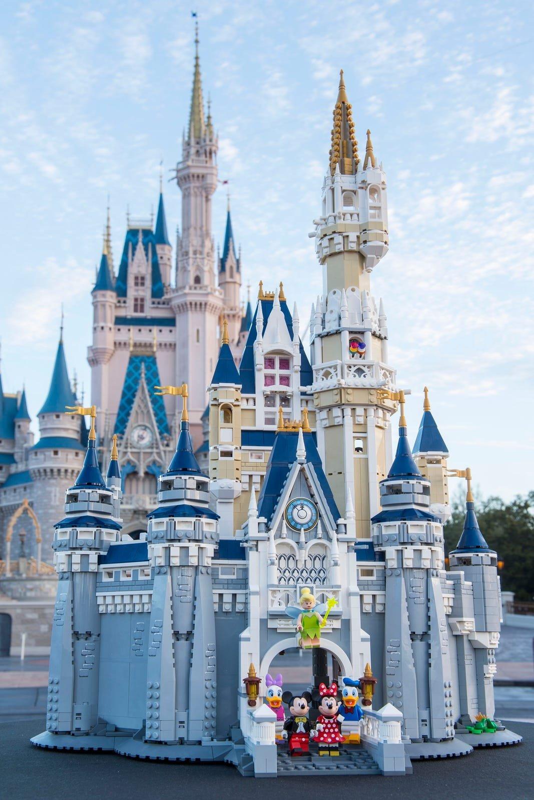 Lego Disney Schloss Angebot