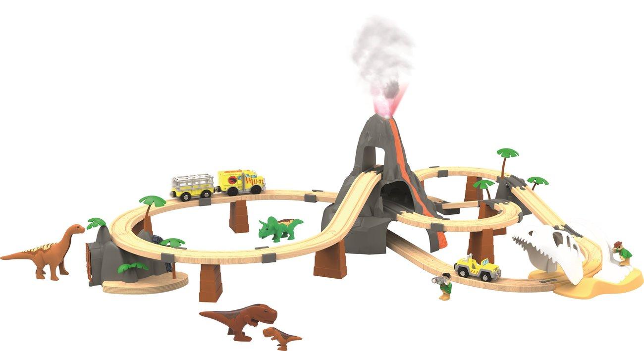 Lidl Holzspielzeug Holzeisenbahn selbstfahrend