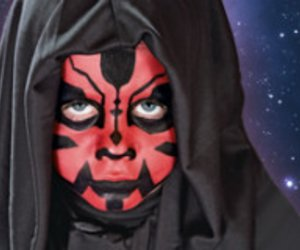 Star Wars Kinderkostüm: Darth Maul schminken