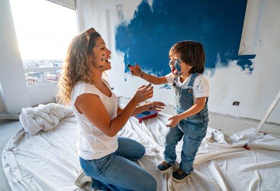 Welche Wandfarbe passt du dir und deiner Familie?