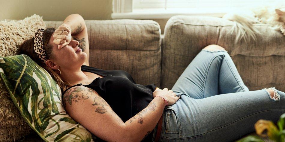Periode schwanger werden schwache Schwanger trotz