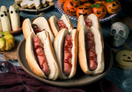 Halooween Rezept Hot Dog