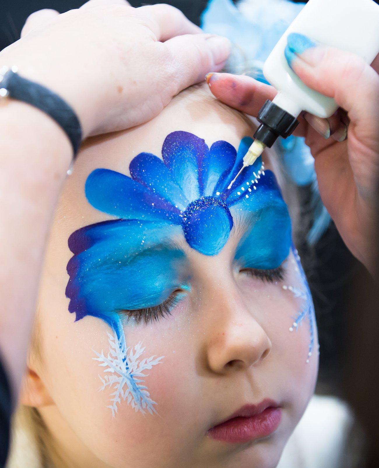 Elsa schminken DIY