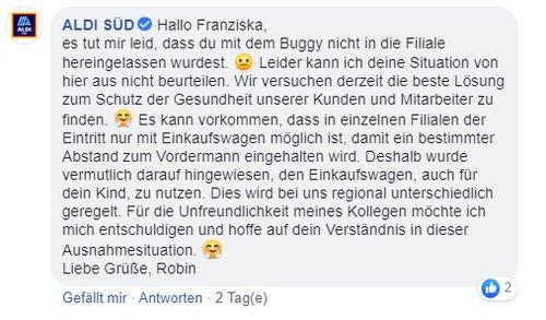 Aldi Facebook