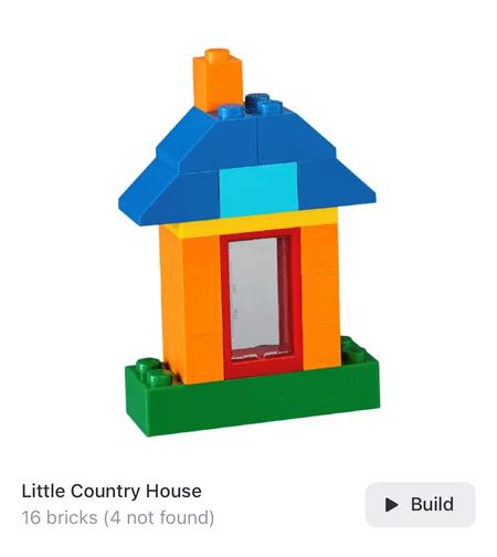 Brickit-Vorschlag: Ein Haus