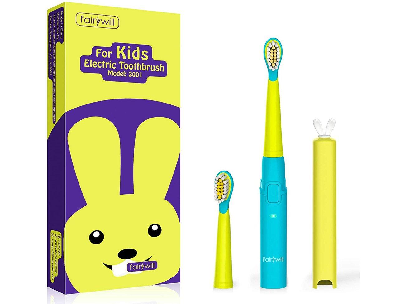 elektrische Zahnbürste Kinder Test Fairywill