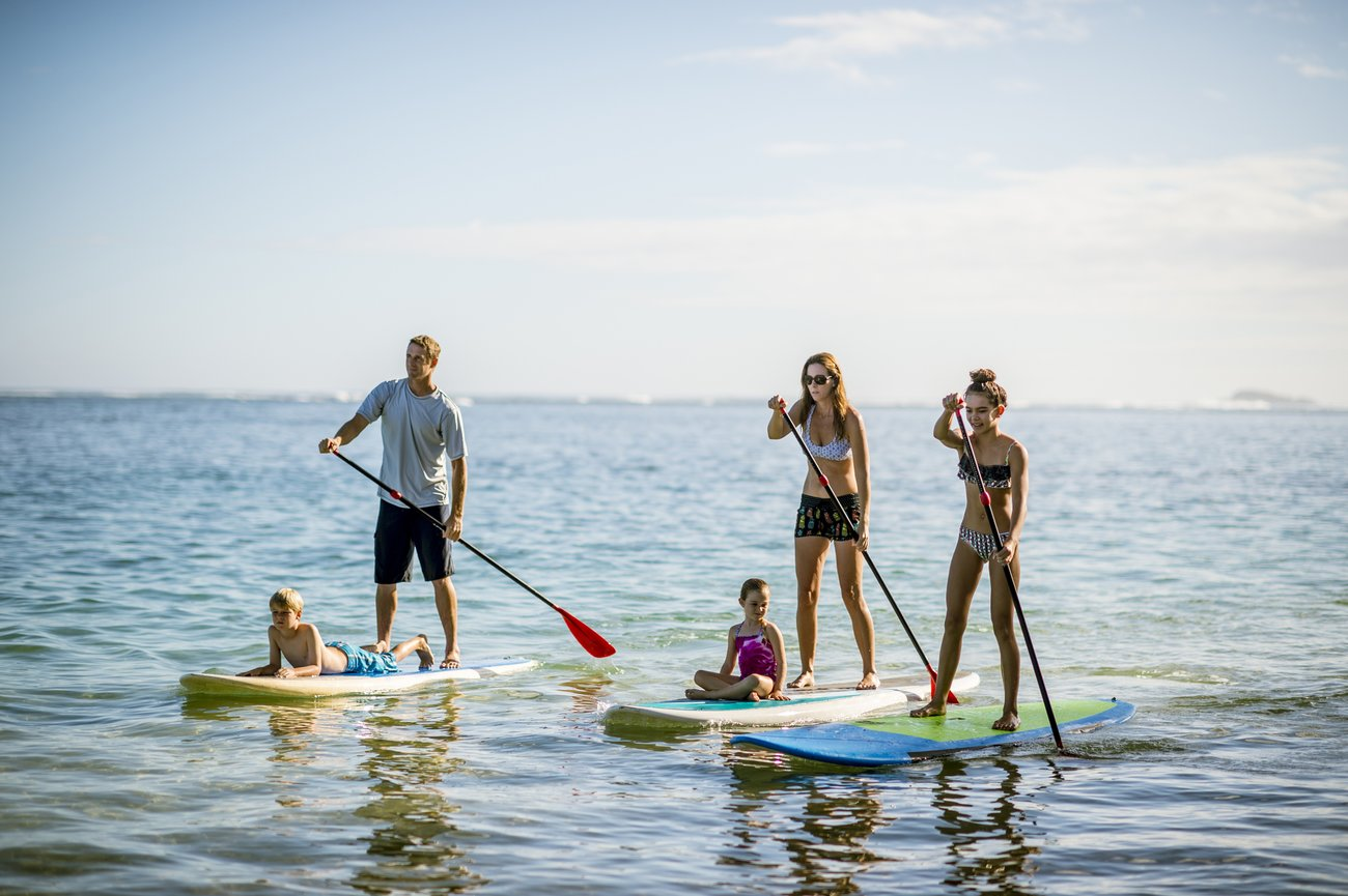 Stand Up Paddling Familie