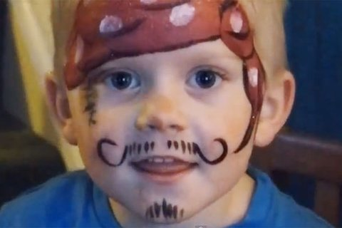 piraten schminken
