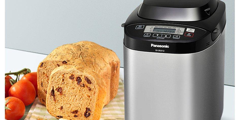 Panasonic SD-ZB2512: Der Brotbackautomat im Praxis-Test | familie.de