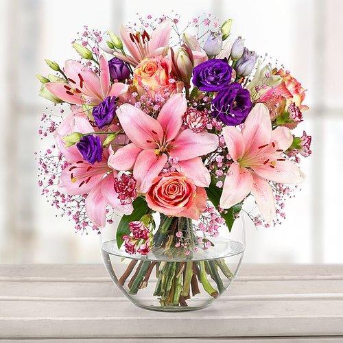 Blumen Bedeutung Rosen und Lilien
