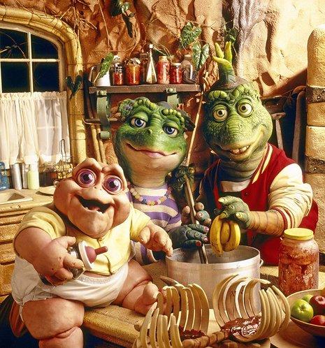Kinderserie der 90er: Die Dinos