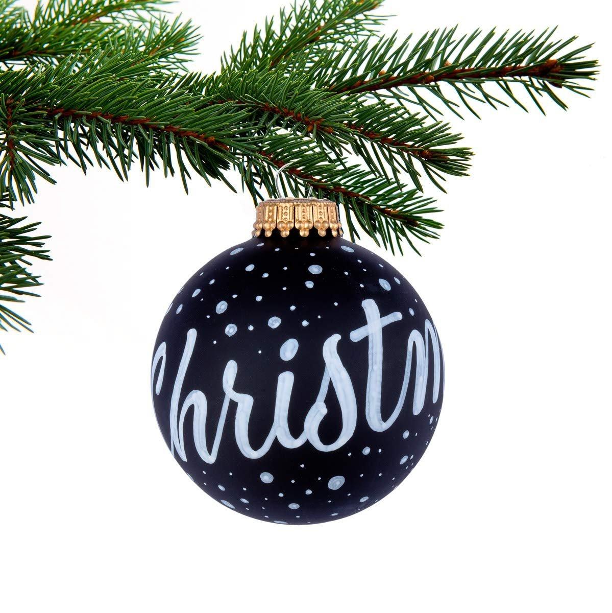 Weihnachtskugeln Bemalen Basteln Weihnachten 10