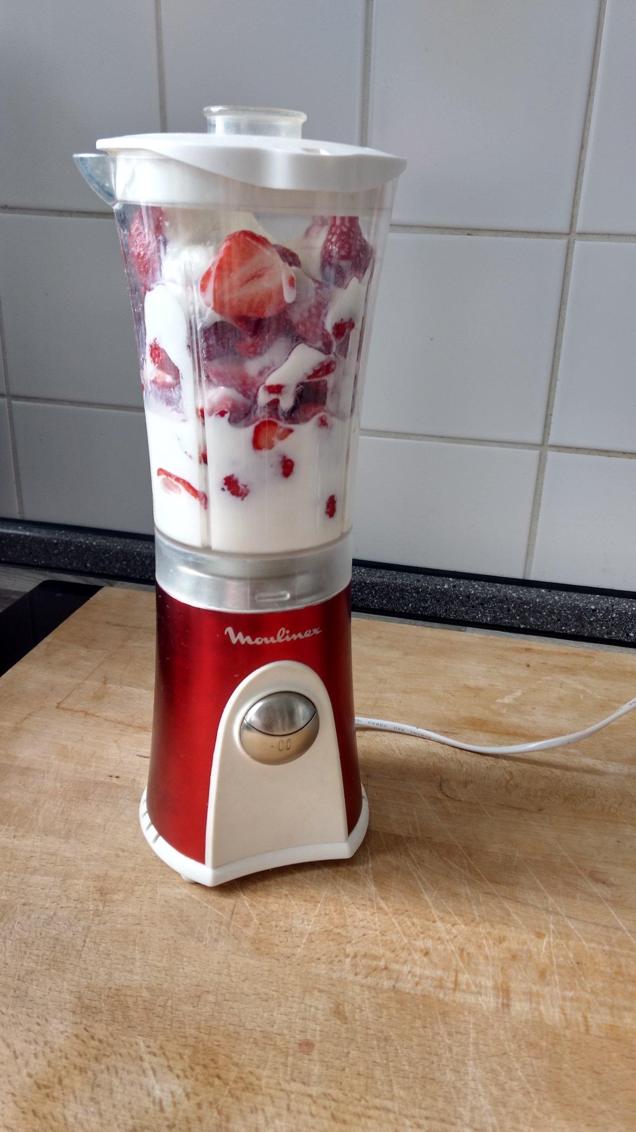 Erdbeer Smoothie selber machen