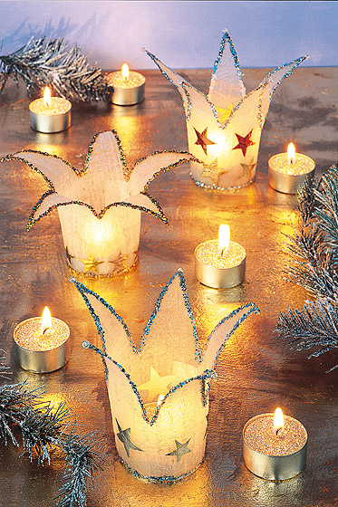 Windlicht Für Weihnachten Basteln Einfach Und Sehr