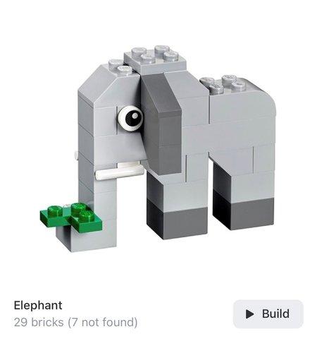 Vorschlag Nummer 2: Elefant
