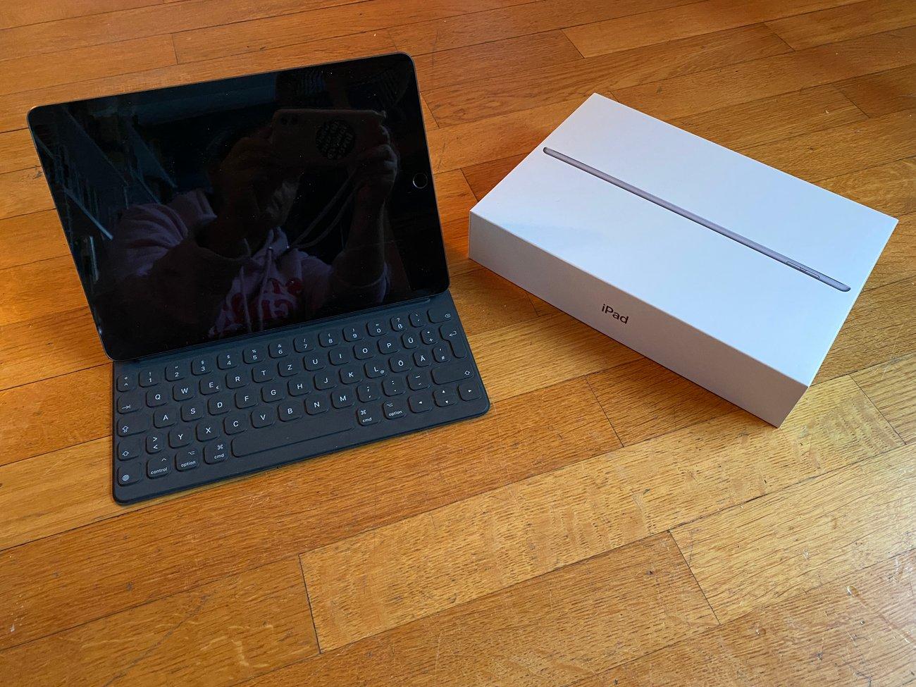 Das iPad kann im Handumdrehen auch für Schulaufgaben genutzt werden