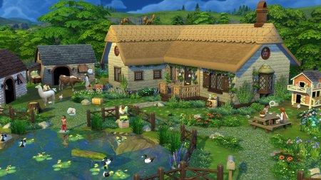 Sims 4 Landhaus-Leben