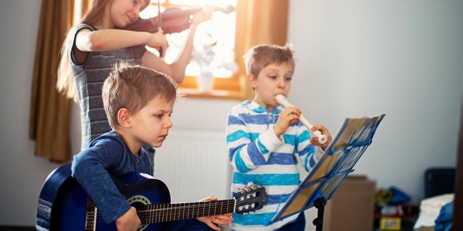 instrumente kennenlernen für kinder