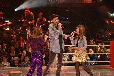 The Voice Kids Benedicta Luc Daantje